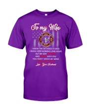 To my  wife mug Classic T-Shirt front