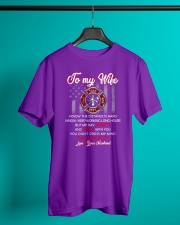 To my  wife mug Classic T-Shirt lifestyle-mens-crewneck-front-3