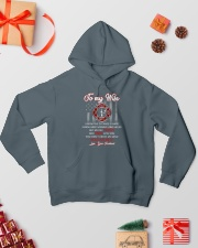 To my  wife mug Hooded Sweatshirt lifestyle-holiday-hoodie-front-2