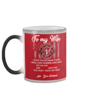 To my  wife mug Color Changing Mug color-changing-left