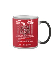 To my  wife mug Color Changing Mug color-changing-right