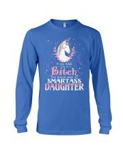 Unicorn Smartass Daughter Mug Long Sleeve Tee front