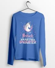 Unicorn Smartass Daughter Mug Long Sleeve Tee lifestyle-unisex-longsleeve-front-3