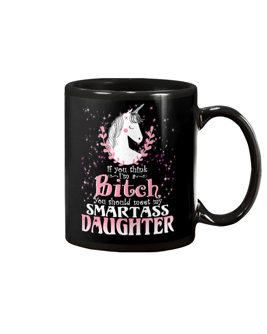 Unicorn Smartass Daughter Mug Mug