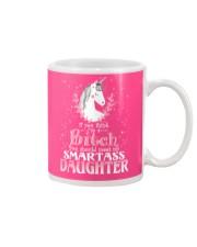 Unicorn Smartass Daughter Mug Mug front