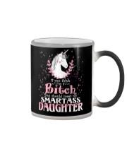 Unicorn Smartass Daughter Mug  thumb