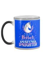 Unicorn Smartass Daughter Mug Color Changing Mug color-changing-left