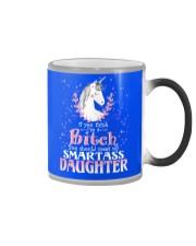 Unicorn Smartass Daughter Mug Color Changing Mug thumbnail