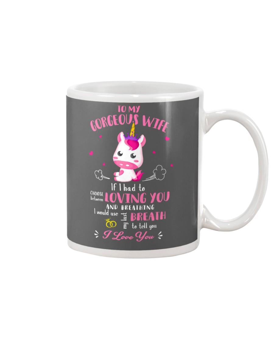 Unicorn Loving You And Breathing Mug Mug