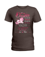 Unicorn I Will Love You Forever Mug Ladies T-Shirt front