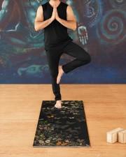 Yoga Mat butterfly Yoga Mat 24x70 (vertical) aos-yoga-mat-lifestyle-03