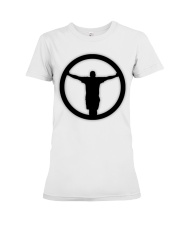 The Outlet - Black and White Collection Premium Fit Ladies Tee thumbnail