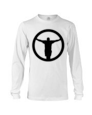 The Outlet - Black and White Collection Long Sleeve Tee front