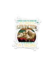 familly - Aboy love me  Sticker - 2 pack (Horizontal) thumbnail