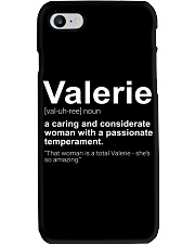 Valerie - First Name Definition Phone Case thumbnail