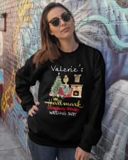 Valerie zx350 Crewneck Sweatshirt lifestyle-unisex-sweatshirt-front-3