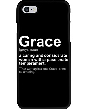 Grace - First Name Definition Phone Case thumbnail