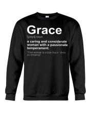 Grace - First Name Definition Crewneck Sweatshirt thumbnail