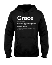 Grace - First Name Definition Hooded Sweatshirt thumbnail