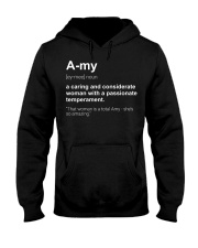 Amy cx750 Hooded Sweatshirt front