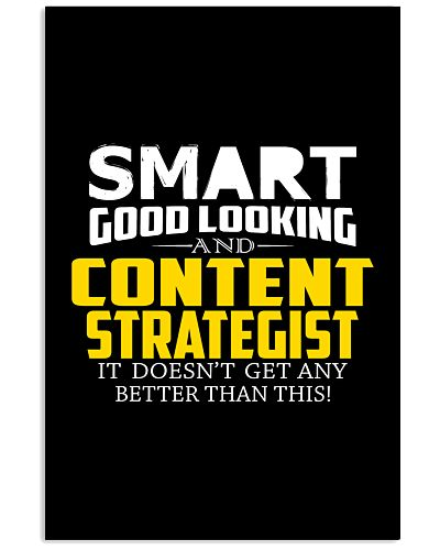 Smart good looking CONTENT STRATEGIST better