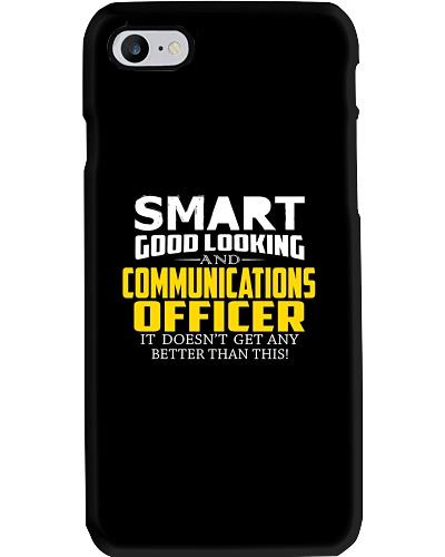 Smart good looking COMMUNICATIONS OFFICER better