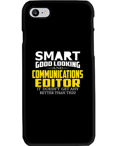 Smart good looking COMMUNICATIONS EDITOR better