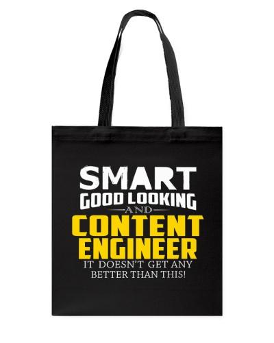 Smart good looking CONTENT ENGINEER better