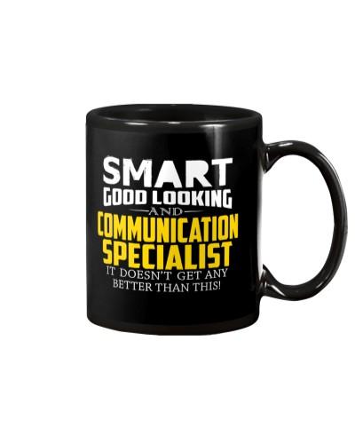 Smart good looking COMMUNICATION SPECIALIST better