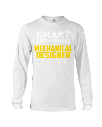 Smart good looking MECHANICAL DESIGNER better