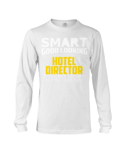 Smart good looking HOTEL DIRECTOR better