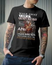I Am A Grumpy Old Man I was Born in April T-Shirt Classic T-Shirt lifestyle-mens-crewneck-front-6