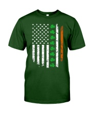 Patrick's Day Irish American Flag Shirt Classic T-Shirt thumbnail