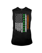 Patrick's Day Irish American Flag Shirt Sleeveless Tee thumbnail