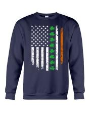 Patrick's Day Irish American Flag Shirt Crewneck Sweatshirt thumbnail