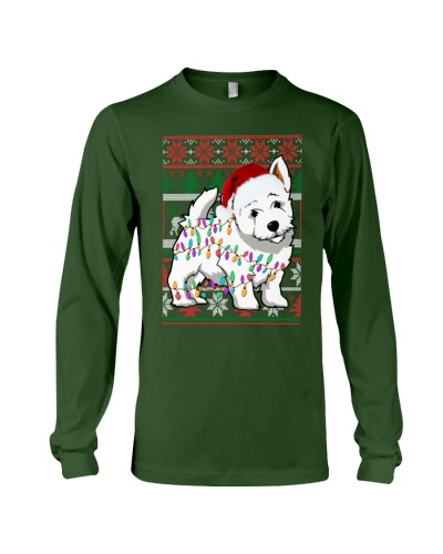 West Highland White Terrier Ugly Sweater Christmas