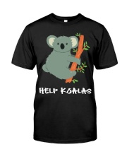 Help Koalas - Save Koala Australian Premium Fit Mens Tee thumbnail