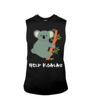 Help Koalas - Save Koala Australian Sleeveless Tee thumbnail