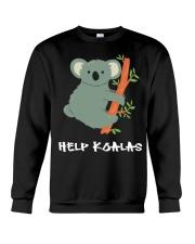 Help Koalas - Save Koala Australian Crewneck Sweatshirt thumbnail