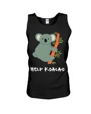 Help Koalas - Save Koala Australian Unisex Tank thumbnail