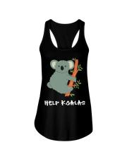 Help Koalas - Save Koala Australian Ladies Flowy Tank thumbnail
