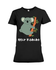 Help Koalas - Save Koala Australian Premium Fit Ladies Tee thumbnail
