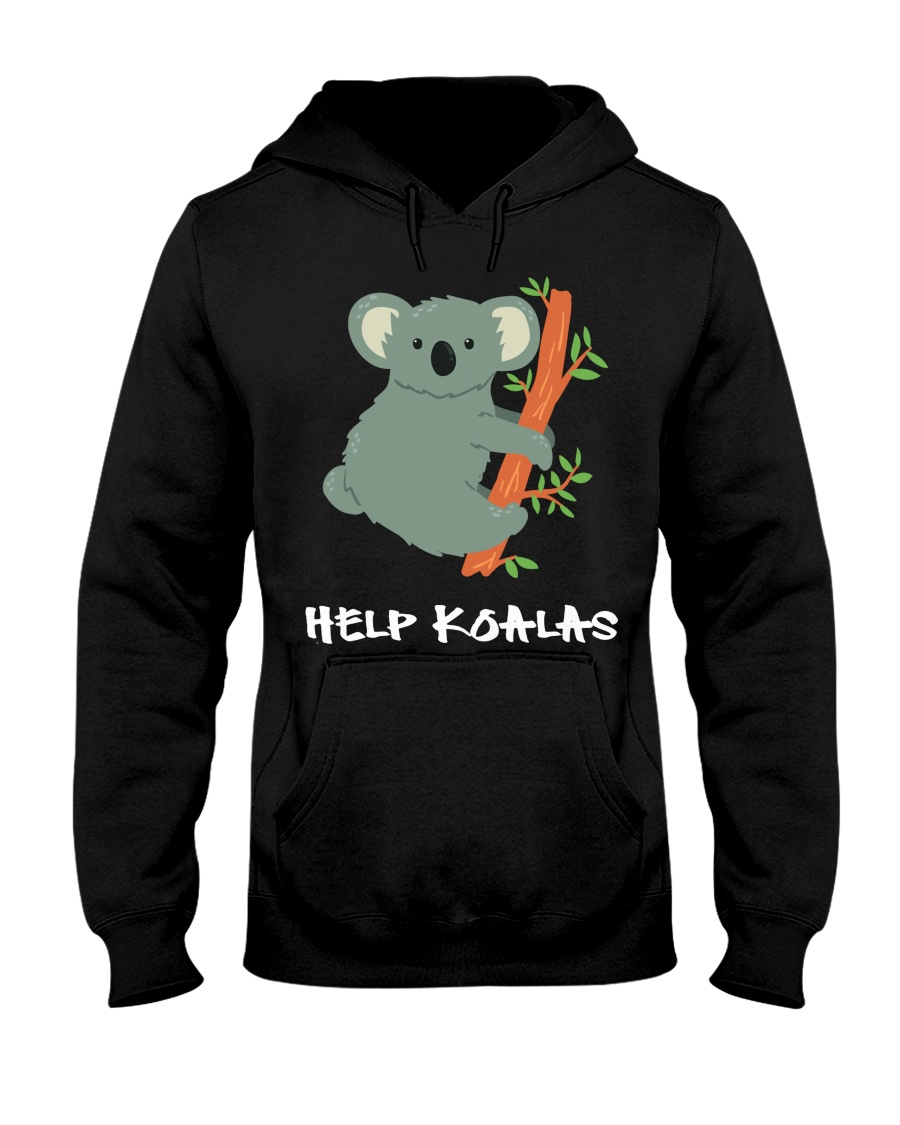 Help Koalas - Save Koala Australian Hooded Sweatshirt
