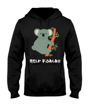 Help Koalas - Save Koala Australian Hooded Sweatshirt tile