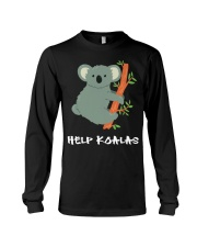 Help Koalas - Save Koala Australian Long Sleeve Tee tile