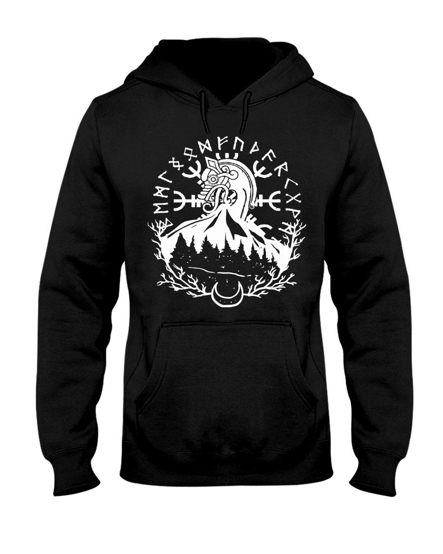Norse Viking Gift For A Viking Shirt Hooded Sweatshirt