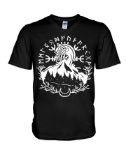 Norse Viking Gift For A Viking Shirt V-Neck T-Shirt tile