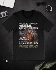 I Am A Grumpy Old Man I was Born in January Classic T-Shirt lifestyle-mens-crewneck-front-16