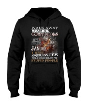 I Am A Grumpy Old Man I was Born in January Hooded Sweatshirt thumbnail