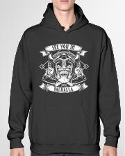 Norse Viking Gift For A Viking Hooded Sweatshirt garment-hooded-sweatshirt-front-04